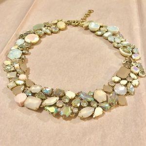 JCrew - Pink Glacier Necklace - Worn Once